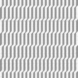 重复对角条纹的抽象无缝的样式 向量例证