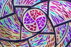 重复样式纹理的玻璃窗 免版税库存图片