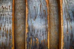 重复样式纹理的钢金属 免版税库存照片
