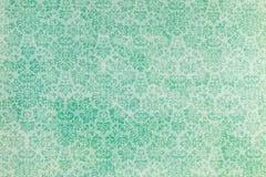 重复植物的样式的墙纸 免版税库存照片