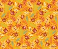 重复的无缝的秋天样式 库存照片