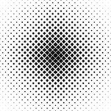 重复黑白色传染媒介正方形样式 免版税库存图片