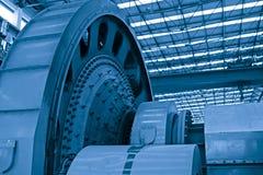 重工业生产讨论会 库存照片