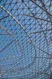 重庆会展中心商展厅en弓形结构 库存照片