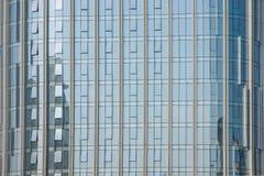 重庆出版社的玻璃门面 免版税库存照片