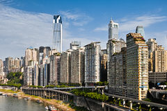 重庆大厦  免版税库存照片