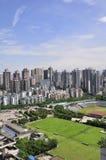 重庆市地平线 库存图片