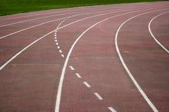 重庆市奥林匹克体育中心跑道 图库摄影