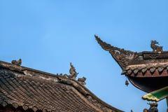 重庆市,在白沙寺庙东部温泉镇  库存图片