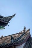 重庆市,在白沙寺庙东部温泉镇  免版税库存照片