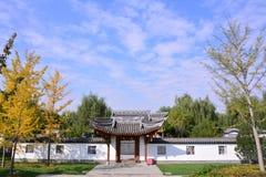 重庆庭院在北京商展公园 免版税库存照片