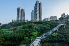重庆都市路轨运输 免版税库存图片