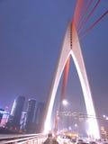 重庆qiansimen桥梁 库存照片