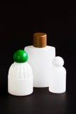 重新使用的液体肥皂瓶。 库存图片