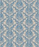 重漆无缝的样式:围住墙纸山羊座 库存图片