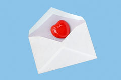重点信函爱 免版税库存图片