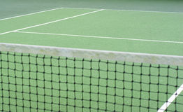 重点净额所选的网球 免版税库存图片