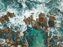 重点前景海浪通知 免版税图库摄影