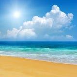 重点前景海浪通知 图库摄影