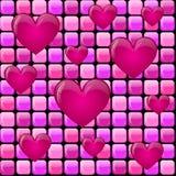重点堆粉红色 库存图片