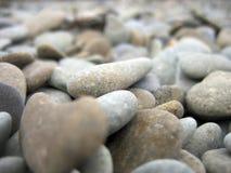 重点小卵石塑造了 图库摄影