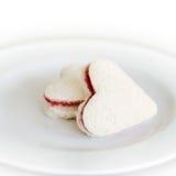 重点形状三明治 免版税库存图片
