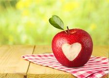 重点查出的形状蕃茄白色 免版税库存照片