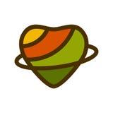 重点查出的形状蕃茄白色 免版税图库摄影