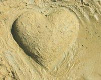 重点沙子 免版税库存照片