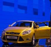 重点浅滩日内瓦国际汽车展示会 免版税库存照片