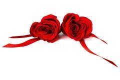 重点玫瑰塑造了 免版税库存图片