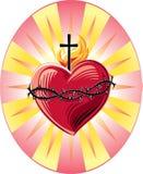 重点神圣的耶稣 免版税库存照片