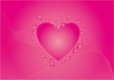 重点粉红色 图库摄影
