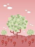 重点结构树 库存图片