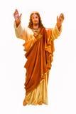 重点耶稣神圣的雕象 库存照片