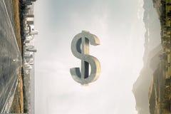 贵重物品保险库标志 混合画法 免版税库存照片
