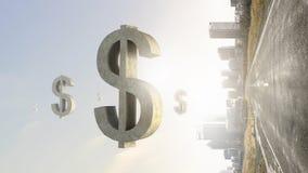 贵重物品保险库标志 混合画法 免版税库存图片