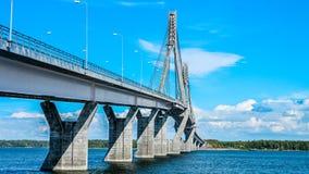 重画桥梁 库存图片