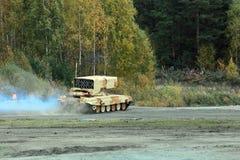 重的喷火器系统 免版税库存图片