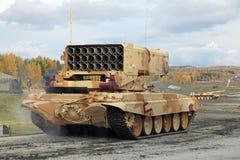 重的喷火器系统 免版税库存照片