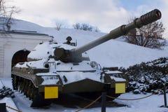 重的坦克苏联的生产T-10  库存图片