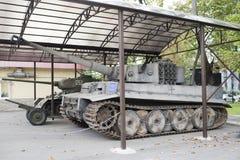 重的德国坦克T-VI H 免版税库存图片