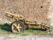 重的步兵开枪 图库摄影