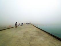 重的薄雾 免版税库存照片