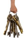 重的钥匙 库存图片