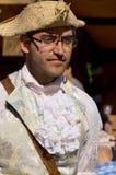 重立法新法兰西时代的人们 库存图片