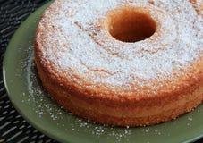 重糖重油蛋糕 库存图片