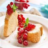 重糖重油蛋糕 免版税库存图片