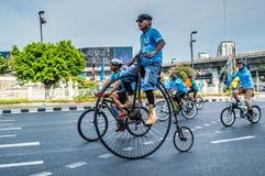 重要人物自行车 免版税库存照片