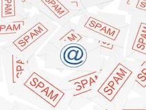 重要信函消息发送同样的消息到多个&# 免版税图库摄影